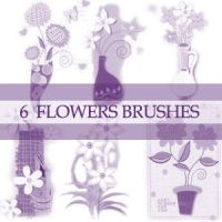 GIMP Flower Brushes by Project-GimpBC