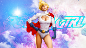 Power Girl 1 by Untay