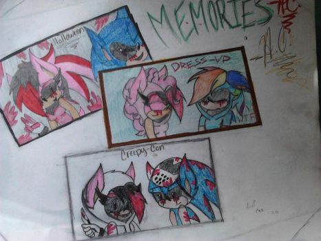 Old Family Memories:Artistia.exe and Sonic.exe by ArtistiaCons