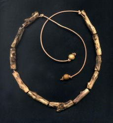 Rustic Bead Necklace 01 by DonSimpson