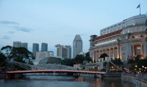 Scenery at Boat Quay by analogdude