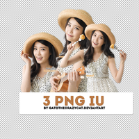 PNG Pack #11: IU by gatothecrazycat