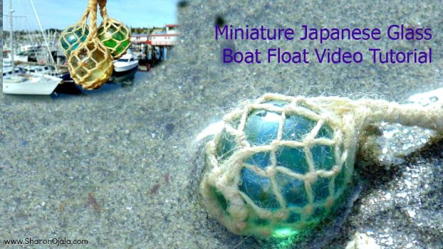 How To Make Miniature Japanese Boat Floats by sojala