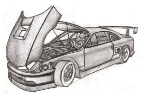 Drawing Cars And Colored Pencil Skect Vol1 By Faik05 On DeviantArt