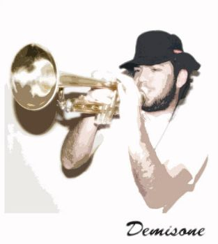 Me and my trumpet by demisone