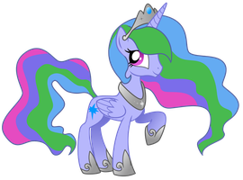 Commission-OC Vector, Princess Moonlight by LostInTheTrees