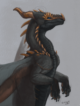 Kaedal - 1 hour commission by LeccathuFurvicael