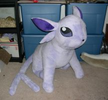 Life size Espeon by Bladespark