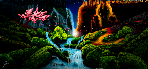 EARTH AIR FIRE WATER by ember-reed