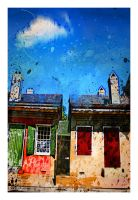 creole cottages by gregoriousone