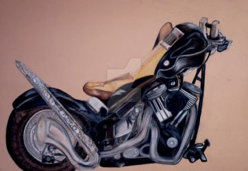 music motorcycle by LadymiIIion