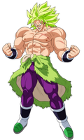 BROLY!!!!!!!!!!! by UrielALV