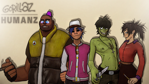 The Humanz by LemurfotArt