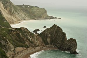 Durdle Door and the Cove by wafitz