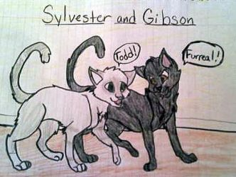 Sylvester And Gibson by SailorMoon190