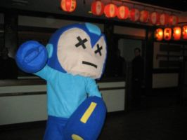 Megaman home made costume by taiwaneezy