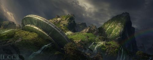Saucer Hill by dylancole