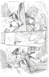 Batman: Arkham Unhinged Sample pg. 3 by SaviorsSon