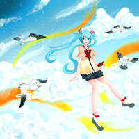 Cumulonimbus Cloud Horizon by reirupan
