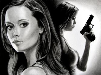 Summer Glau by JCKarlo