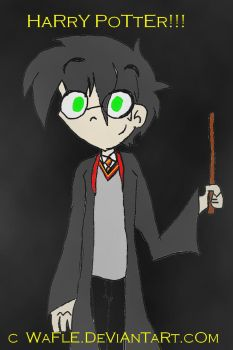Harry Potter by wafle