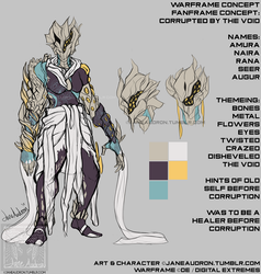 Warframe Concepts - Fanframe Concept by Jane2Audron