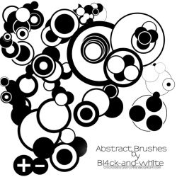 Abstract Vector Brush Set by Bl4ck-and-wh1te