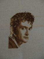 Sepia Dr Who X-Stitch by David-Tennant-Fans