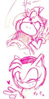 Amy rose by hitosan