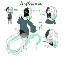 OC: Asphiixia by LunaticLily13