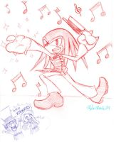 The Magic's in Knux by SonicHearts