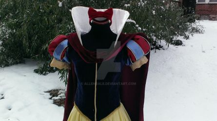 Snow White Deluxe Costume: Close-Up by AllenGale