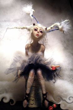 Ballerina full front by cdlitestudio
