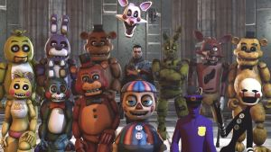 Gang of FNAF by Trycon1980