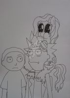 I love Rick and Morty by Elmer157Typhlosion