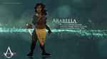 UA: Arabella UPDATE + ANIMATED by scarlettafruits