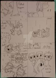 If I jumped (Comic) by Elmer157Typhlosion