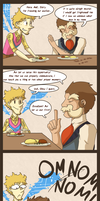 HPM - Proper Table Manners by TamarinFrog