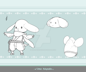 Critter Adoptable - Toppo Ninja SOLD by Asgard-Chronicles
