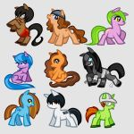 My Little Pony Styled Ponies, Livestream Work by Dragoart