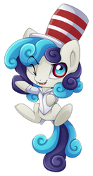 Com:Chibi pony for Chocolatechilla by Extra-Fenix