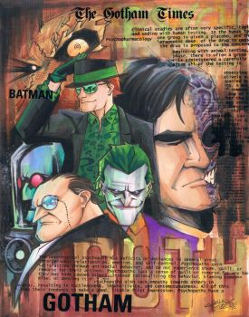 marker: Gotham Villainy by KidNotorious