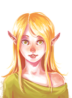 Elf by GrayPaint