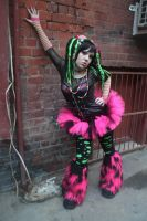 pin green raver 2 by WednesdayStock