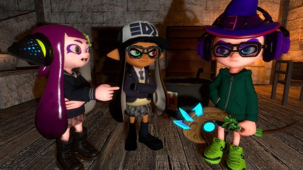 The Wizard Squid by MrMadness02