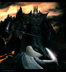 Fingolfin's Challenge by BoxofPockets