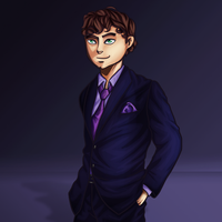Skydoesminecraft Twitter Header Drawing by GoldSolace