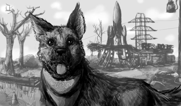 Dogmeat (Fallout 4) by CorsairsEdge