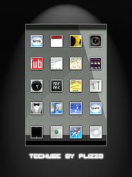Techube iPhone Theme by Plizzo