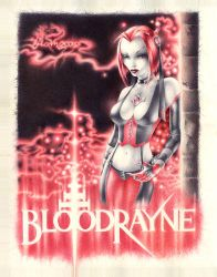 PenPainting BloodRayne by muravei